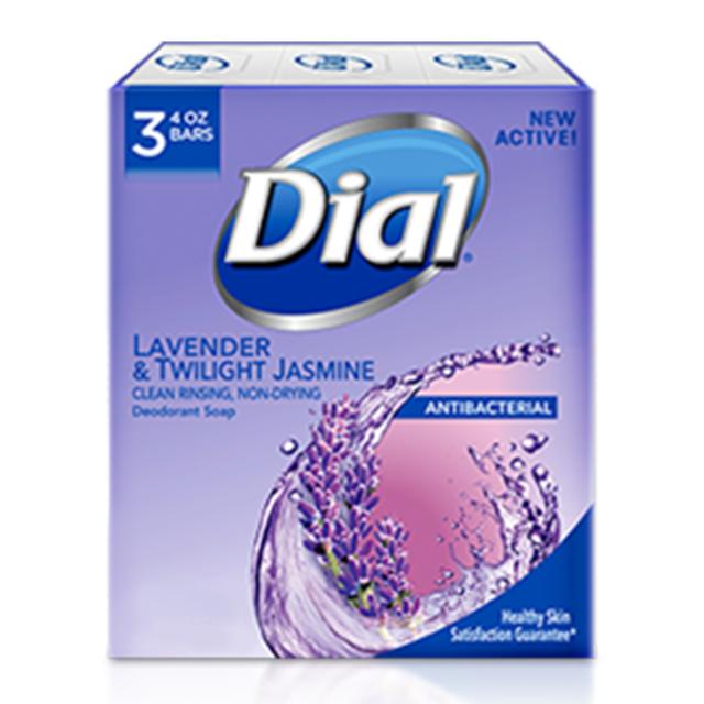Dial Bar Soap Lavender&Jasmine ダイアル 固形デオドラント石鹸 ラベンダージャスミン 113g×3個 セット
