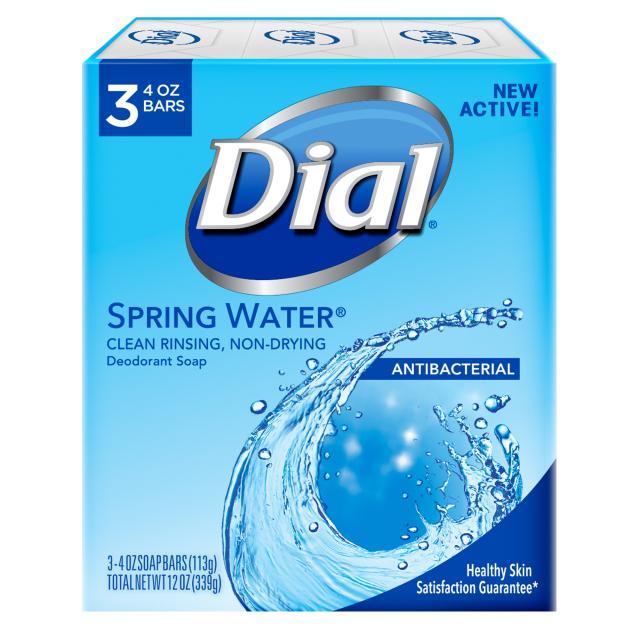 Dial Bar Soap Spring Water ダイアル 固形デオドラント石鹸 スプリングウォーター 113g×3個 セット