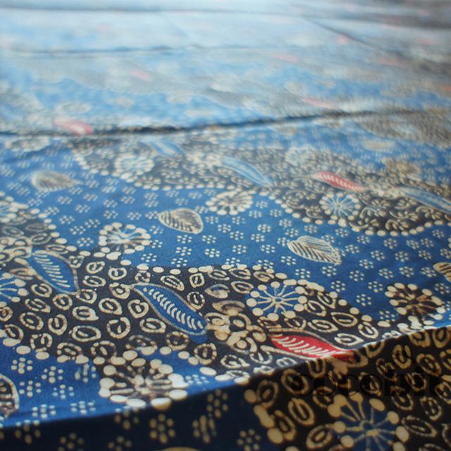 インドネシア ジャワ島バリ島 シルク生地バティック 商品画像3