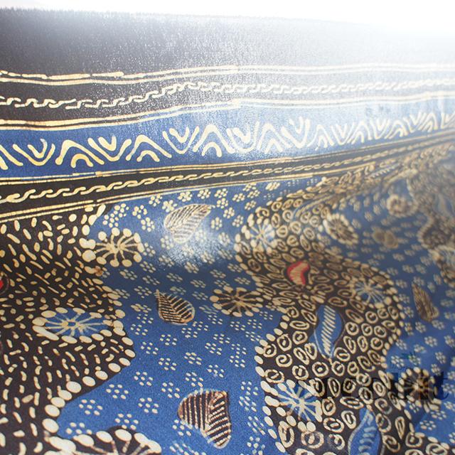 インドネシア ジャワ島バリ島 シルク生地バティック 商品画像5