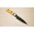 日本和包丁 薄出刃黒打ち アジ切り Japanese thin deba knife 120mm 3