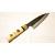 日本和包丁 薄出刃黒打ち アジ切り Japanese thin deba knife 120mm 6