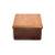 手作り漆塗りバターケース小9x9x5.5cm 1