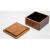 手作り漆塗りバターケース小9x9x5.5cm 3