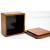 手作り漆塗りバターケース小9x9x5.5cm 8