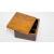 手作り漆塗りバターケース小9x9x5.5cm 9