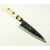 日本和包丁 黒打ち万能 Japanese santoku knife 165mm 1