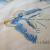 インドネシア地方 ジャワ島 バリ島 高級民芸品 コットンバチック 生地 手作り品 バタフライ柄 画像5