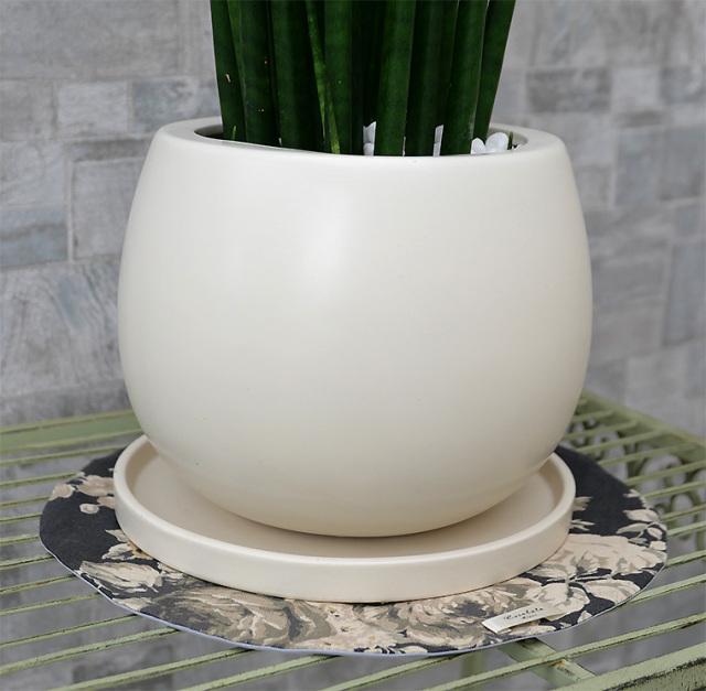 陶器鉢・Mサイズ(マットシリーズ/ムーン)