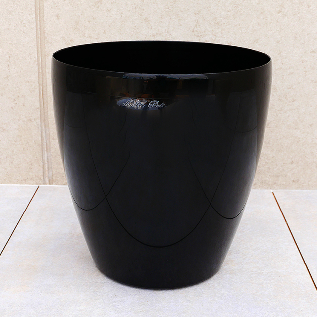 ラスターポット・ブラック 8号鉢用