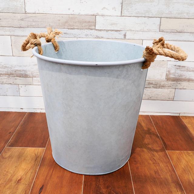 ブリキ製鉢カバー 詳細