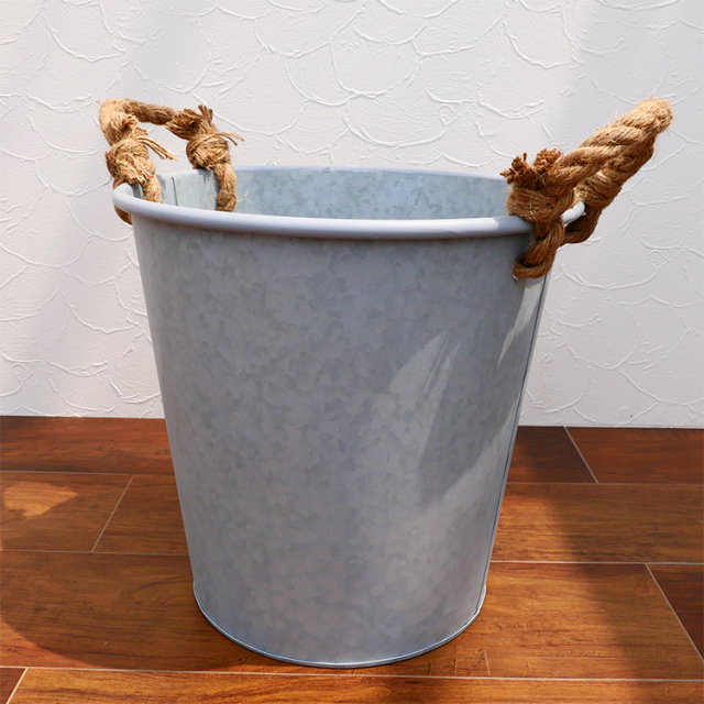 ブリキ製鉢カバー 8号鉢用