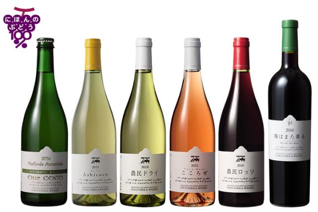 2017春夏ココワイン6本セット
