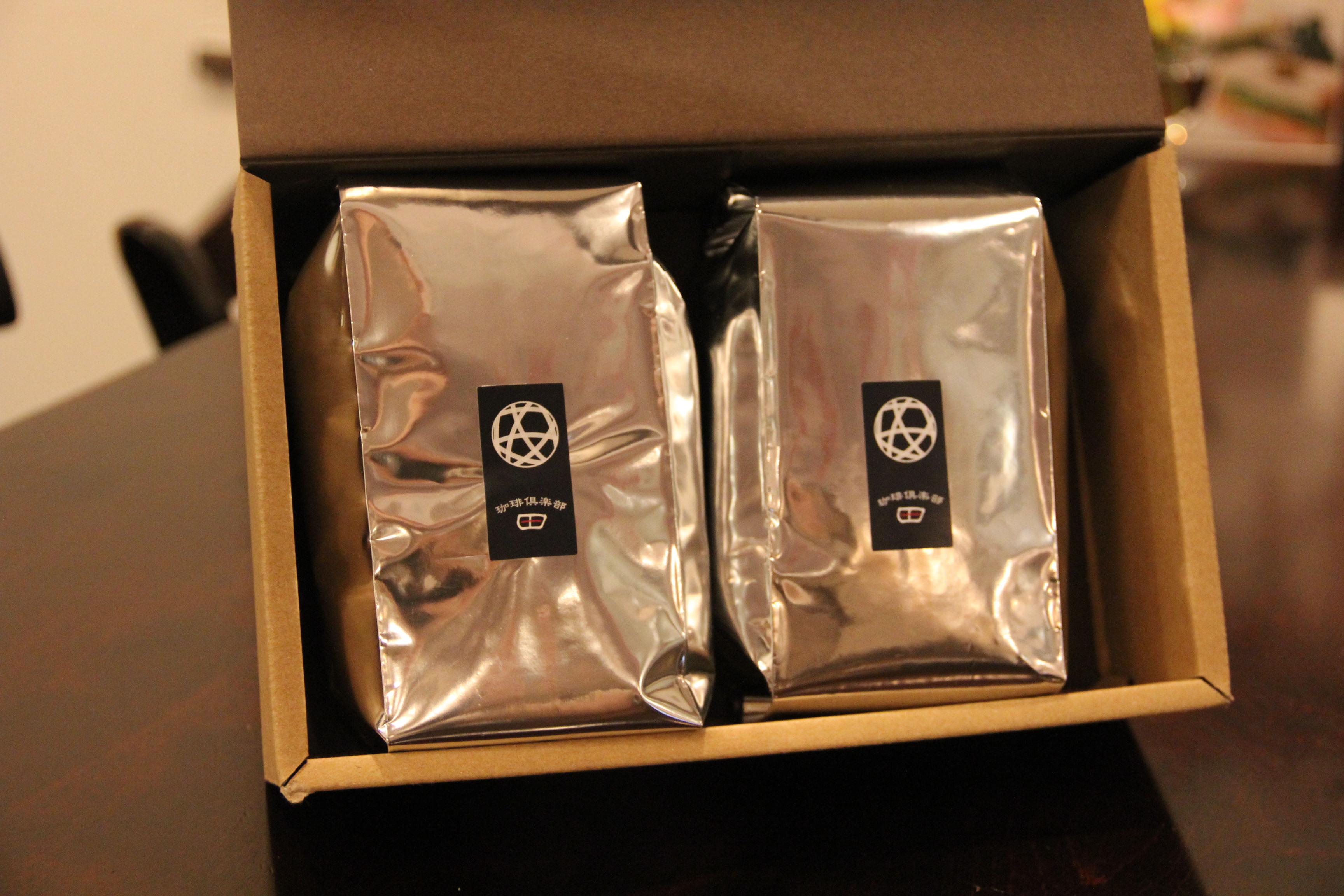 [ギフトセット]珈琲豆200g 2袋セット