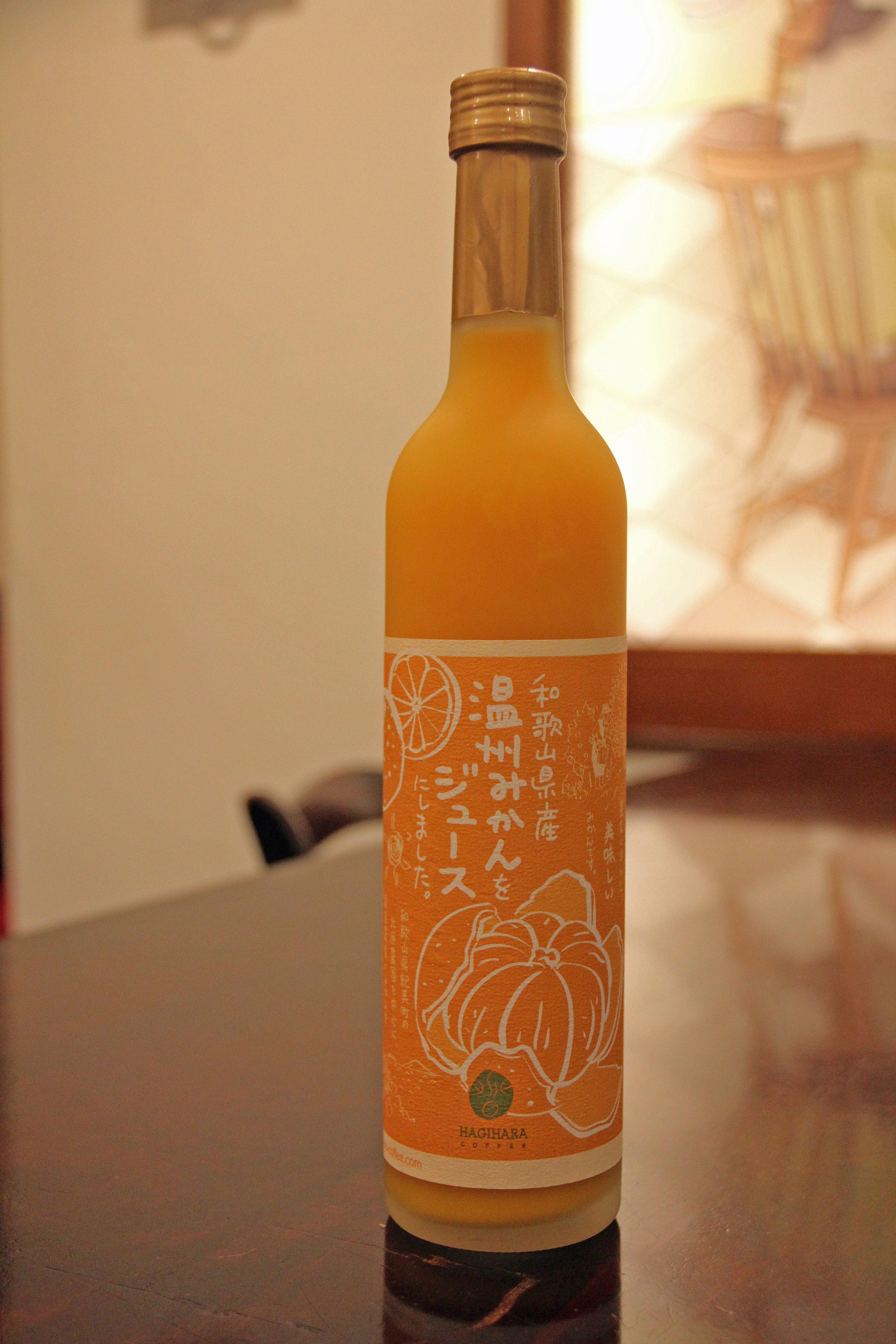 【純国産なので安心です♪和歌山県 温州みかんジュース 500ml