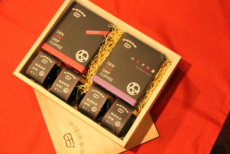[プレミアムギフトセット]ワンドリップコーヒー 2箱 × コーヒーゼリー 4個