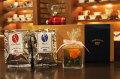 [ギフトセット E ]コーヒー豆200g 2袋 プリザーブドフラワー セット