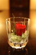 [ギフトセット]プリザーブドフラワー in Glass