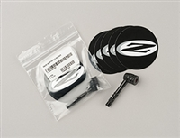 ZIPP Disc Valve Adapter and 5Patches ディスク バルブアダプター パッチ5枚付き