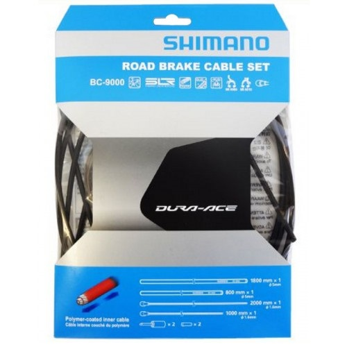 SHIMANO シマノ BC-9000 ポリマーコート ロード ブレーキケーブルセット