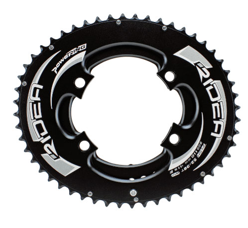 RIDEA リデア ROAD POWER RING FULL PLATE W2 4アーム 楕円 チェーンリング