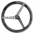 CORIMA 3スポーク WS TT HM ディスクブレーキ ロード クリンチャー ホイール フロント (700C)