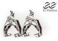 【限定カラー】 EECYCLEWORKS イーイーサイクルワークス eeBrake イーイーブレーキ 「El Platino」 前後セット