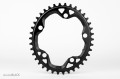 absolute BLACK OVAL CX PCD110/5arm Narrow-Wide Chainring (ナローワイドチェーンリング)