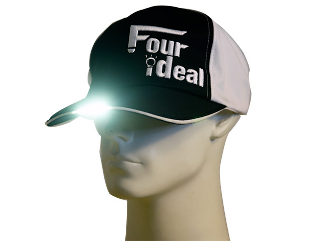 LED付キャップ