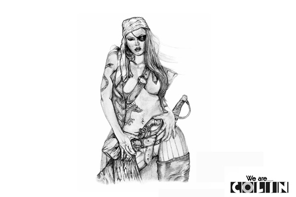 図柄05〈女海賊〉