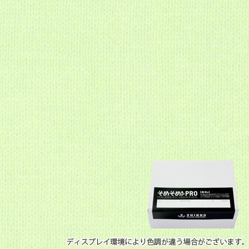 クリーミーグリーン色に染める綿麻用の染色キット / そめそめキットPro 【S-0267】