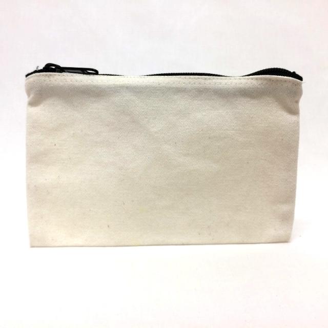 布製 ペンケース 布用絵の具 で お絵かき用 無地白 シンプル