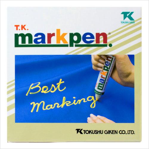 T.K.マークペン(マーキングペン) 細字S / 1箱 / カラーマーケット