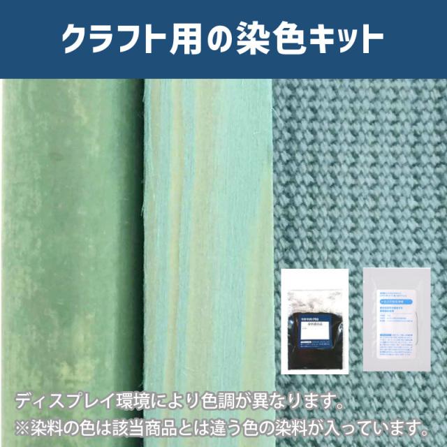 【送料無料】 メール便のみ 深川鼠色に染めるクラフト用キット /  染料 そめそめキットProクラフト    【064】(25220-064)