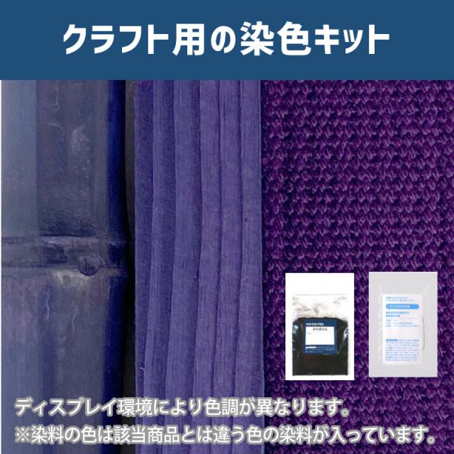 【送料無料】 メール便のみ 菫色に染めるクラフト用キット/  染料 そめそめキットProクラフト   【109】(25220-109)