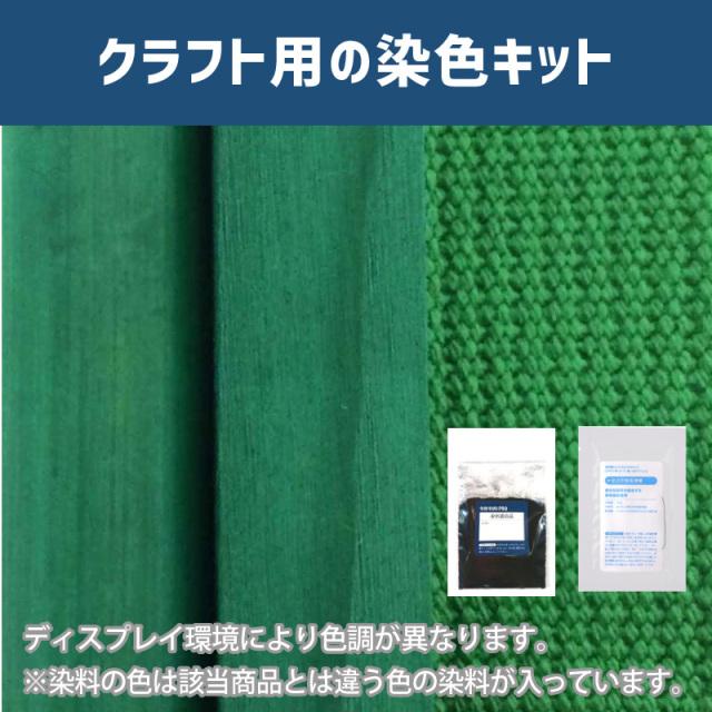 【送料無料】 メール便のみ メイフェアーグリーン色に染めるクラフト用キット /  染料 そめそめキットProクラフト    【112】(25220-112)