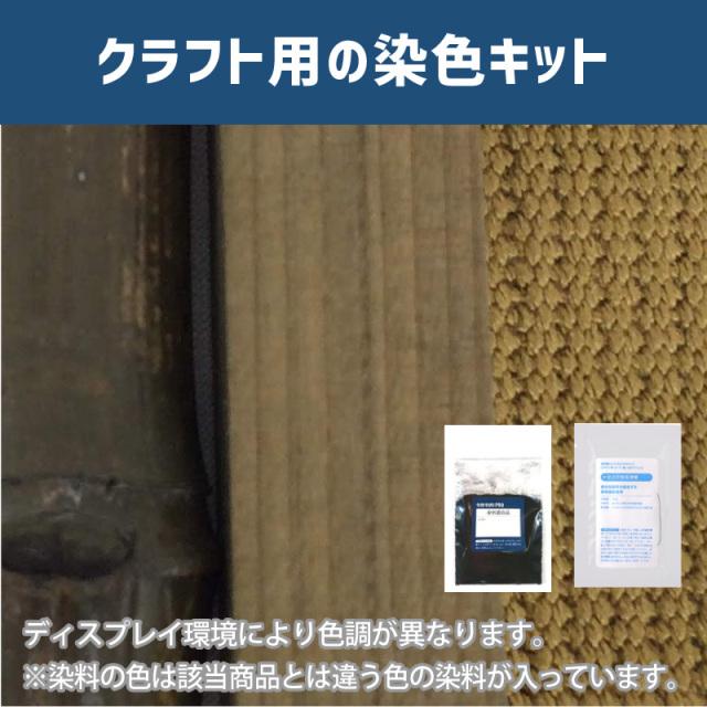 【送料無料】 メール便のみ ブロンズ色に染めるクラフト用キット /  染料 そめそめキットProクラフト    【135】(25220-135)