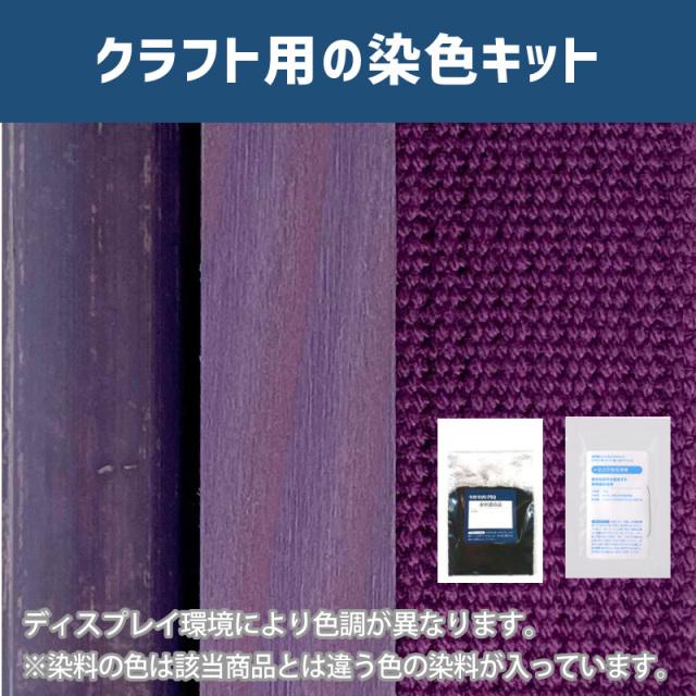 【送料無料】 メール便のみ モーブ色に染めるクラフト用キット /  染料 そめそめキットProクラフト   【224】(25220-224)