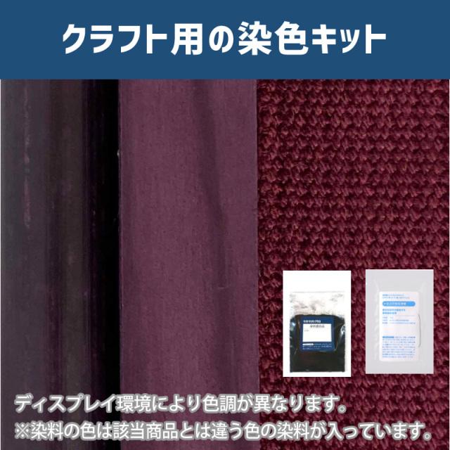 【送料無料】 メール便のみ ワインパープル色に染めるクラフト用キット /  染料 そめそめキットProクラフト   【238】(25220-238)