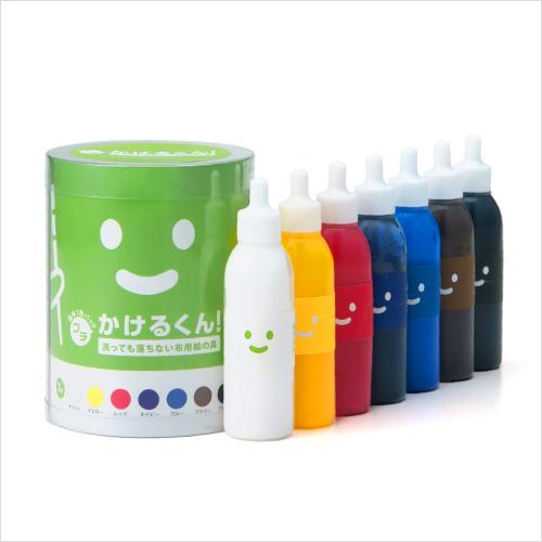 布用絵の具 「プチかけるくん!7色パック」 / カラーマーケット