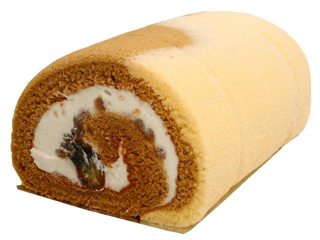 栗くりロールケーキ