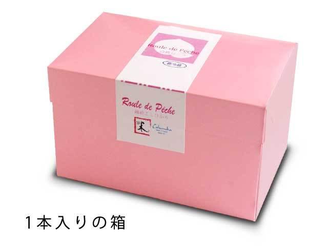 白桃ロール 1個入り箱