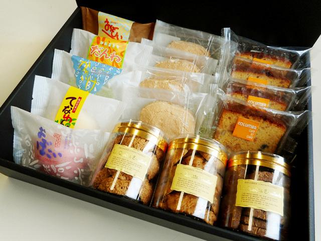 蒸菓子と焼き菓子のセレクトギフト