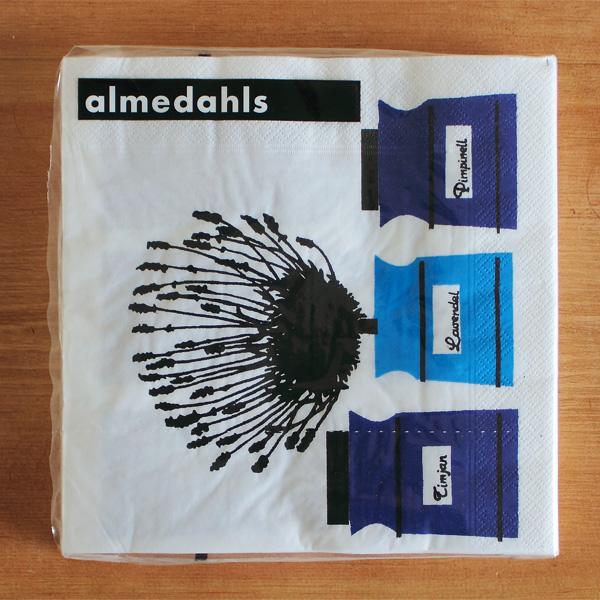 almedahls/アルメダールス/ペーパーナプキン/ハーブポット