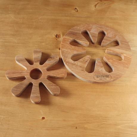 sagaform/サガフォルム/Oval oak/オークの鍋敷き