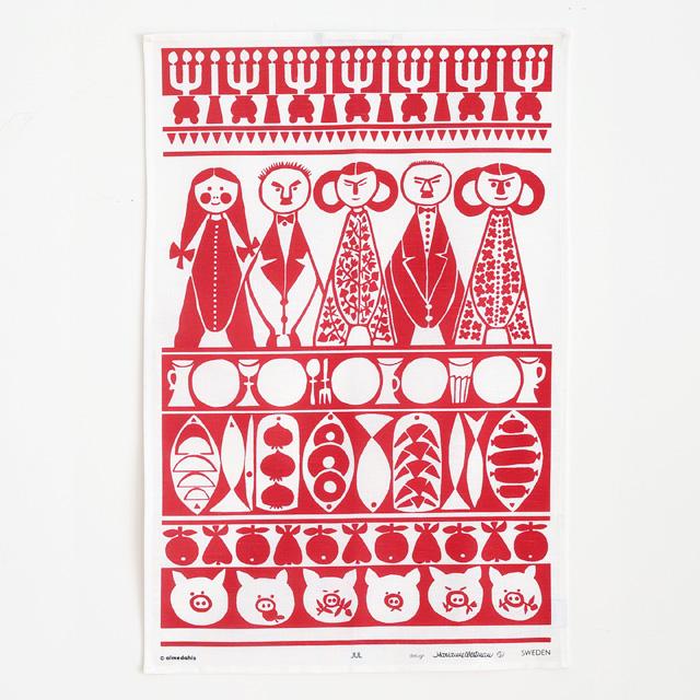 almedahls/アルメダールス/キッチンタオル/メリークリスマス