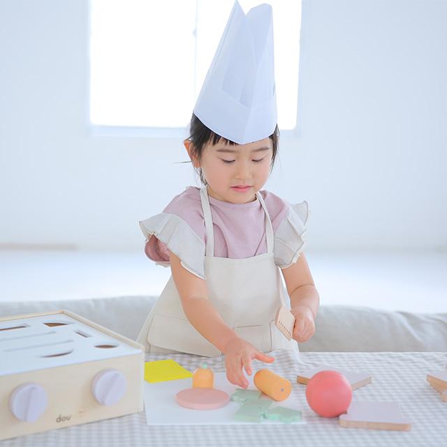 dou?/little chef(型はめ&ままごと)