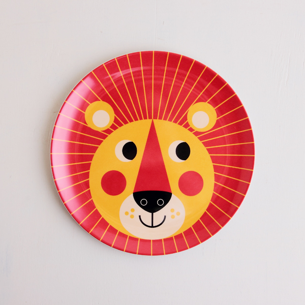 OMM-design/インゲラ・アリアニウス/メラミンプレート/ライオン