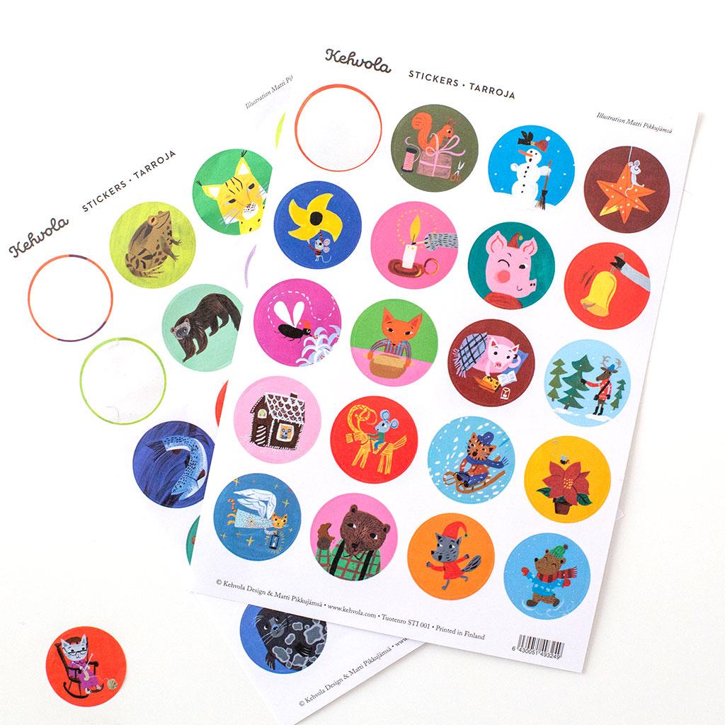 Kehvola Design/ケフボラ・デザイン/ステッカーシール