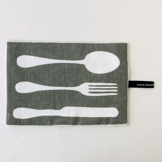 KORPI&GORDON/コルピ&ゴードン/鍋つかみ/WHAT'S FOR DINNER/グレー